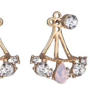Jewelry - 💎 Crystal Fan Earring 💎